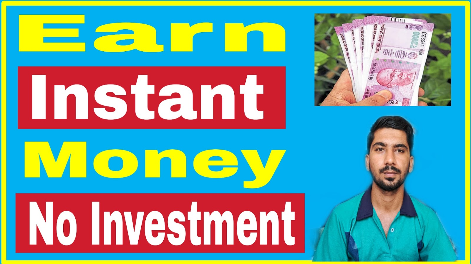 Top 3 Instant Earning Ways
