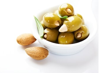 Olive and almond oil