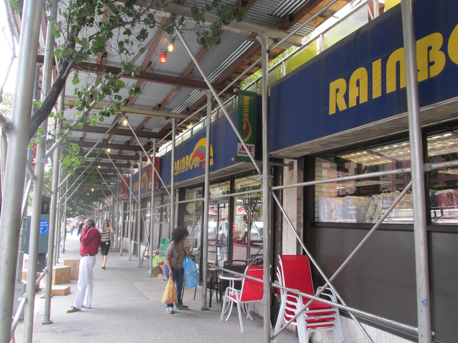 Rainbows clothing store