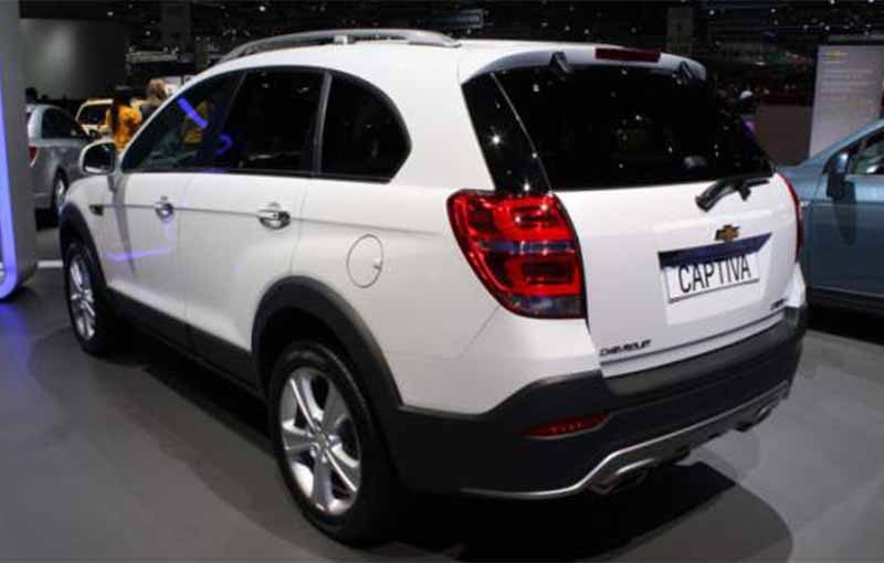 2017 Chevrolet Captiva 3 4 Rear View