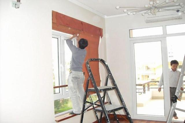sơn sửa lại căn hộ chung cư giá rẻ tại Quận 9