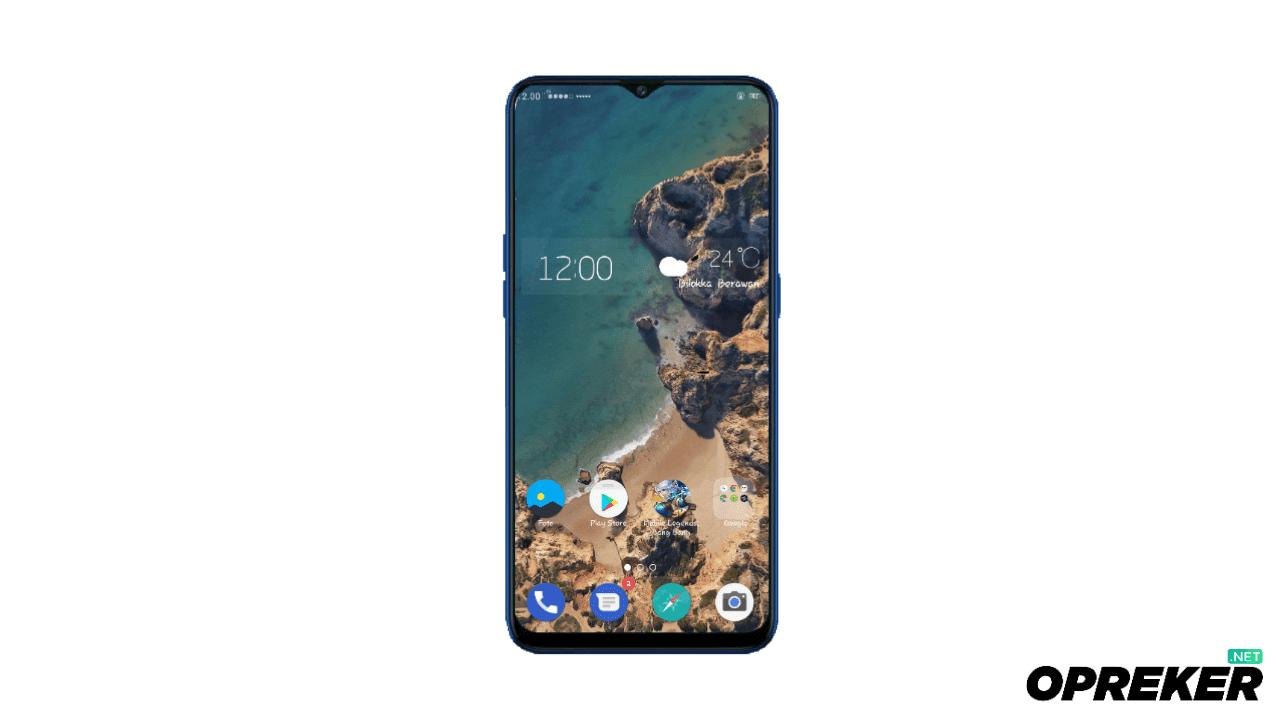 Theme Google Pixel 2 untuk Oppo dan Realme