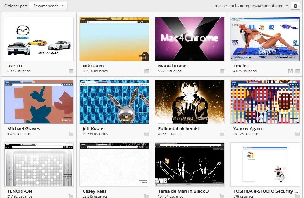 2610cultivo Aplicaciones Temas Y Juegos Para Google Chrome
