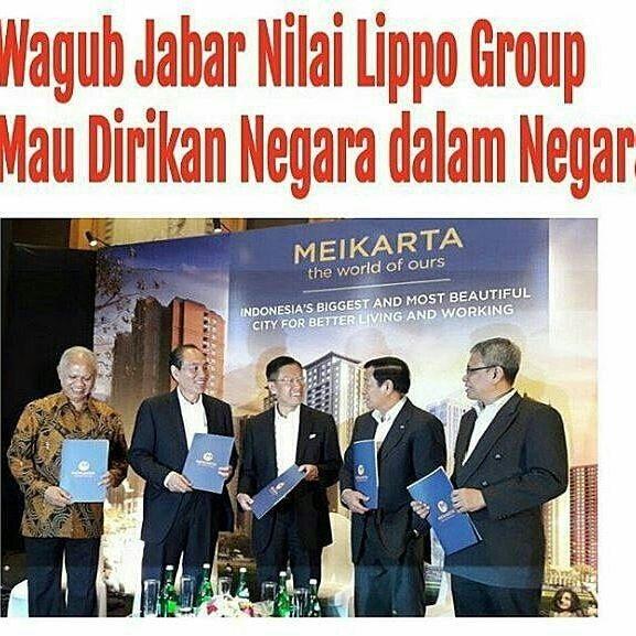 "Misteri Di Balik Kota Raksasa Meikarta ""NEGARA DALAM NEGARA"""