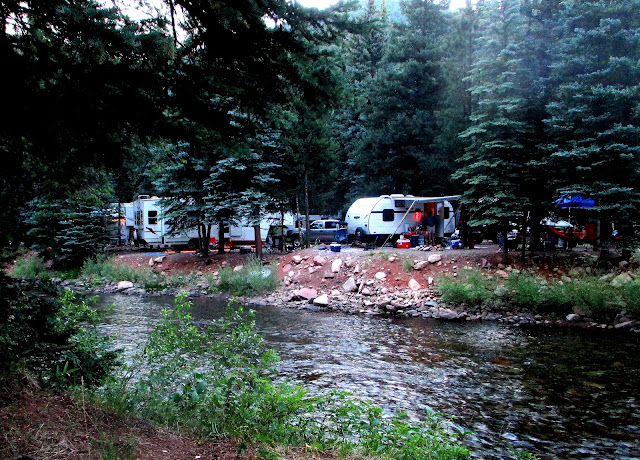 Priest Gulch Campground and A Day in Telluride
