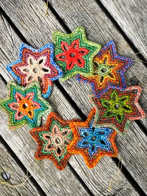 Bethlehem Stars - Free Pattern