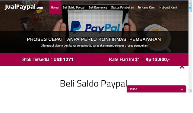 Jualpaypal.com Penipu? No!