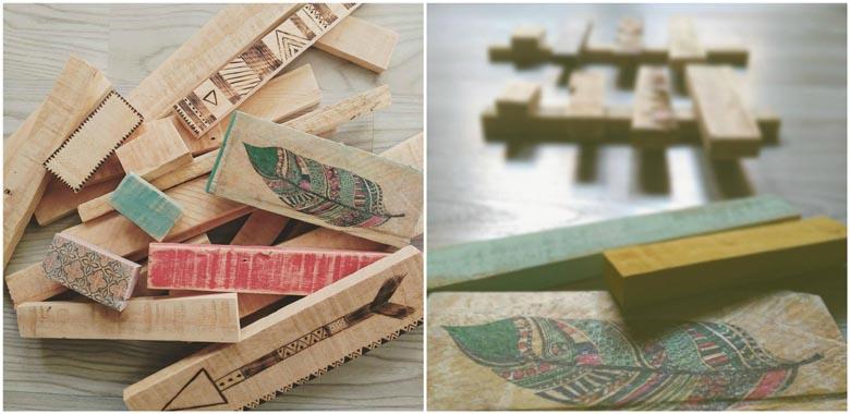 La madera y el pirograbado son los grandes protagonistas de hoy, viene Soña de Soñar a mostrarnos algunas de sus creaciones