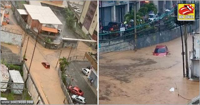 San Antonio de los Altos colapsado por las fuertes lluvias y falta de mantenimiento