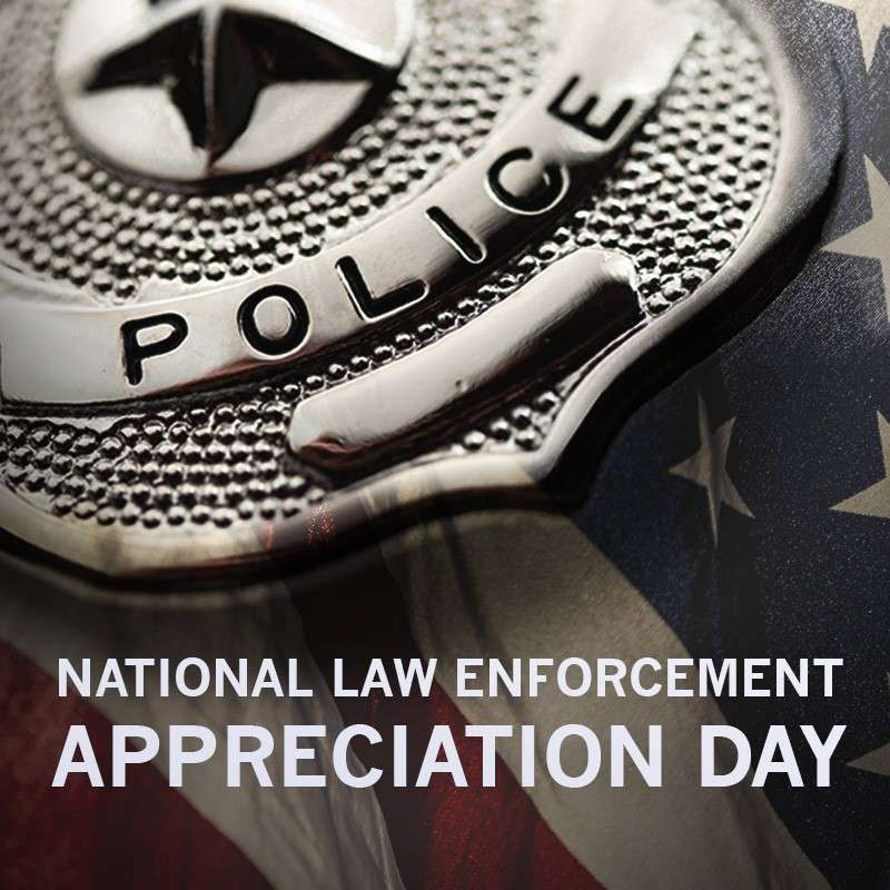 National Law Enforcement Appreciation Day Wishes Sweet Images