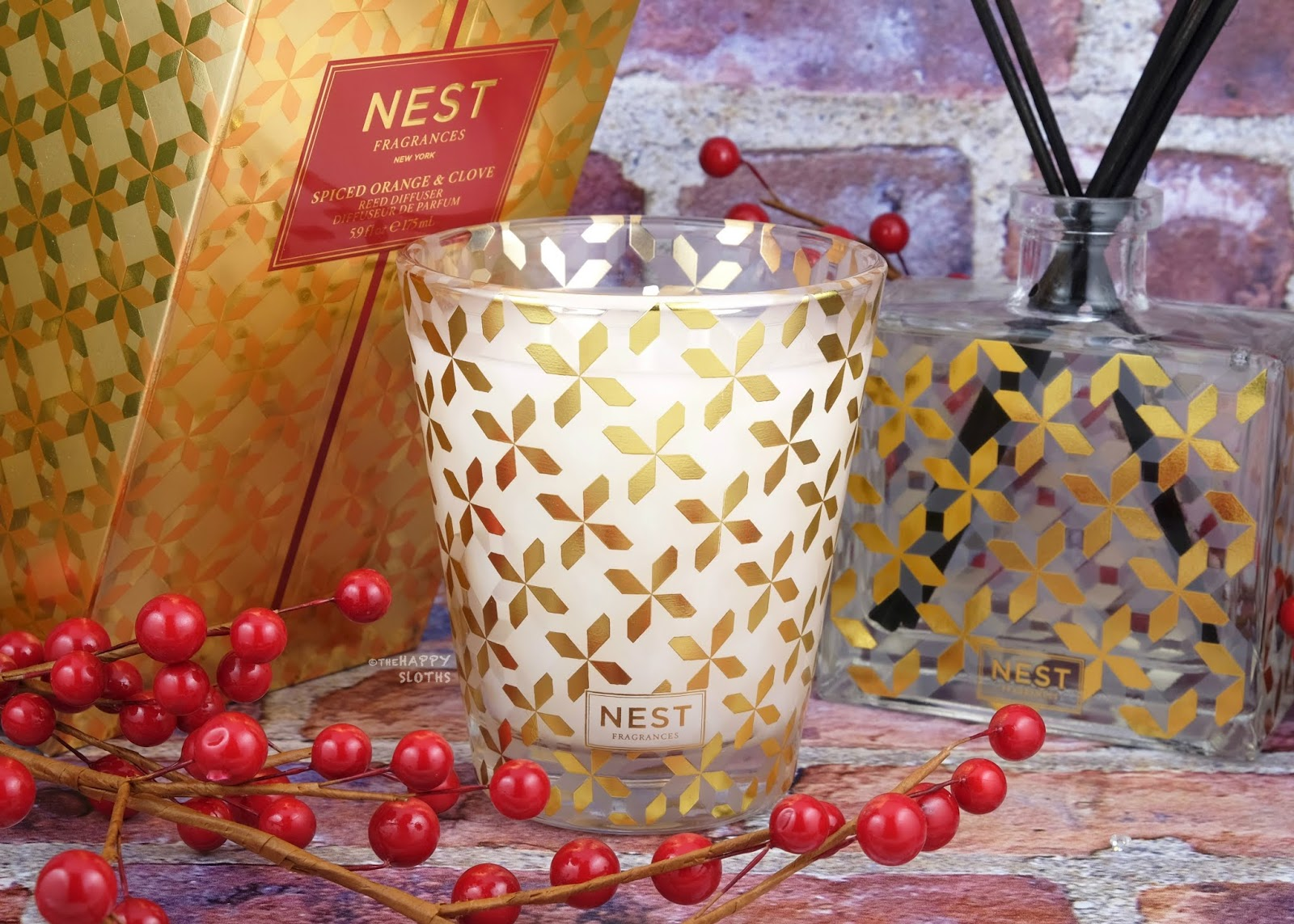 NEST Fragrances | Holiday 2019 Spiced Orange & Clove Scented Candle: Review