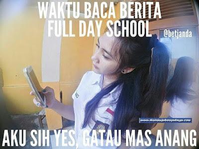 10 Meme 'Full Day School' Ini Bikin Pelajar Bahagia Lahir Batin