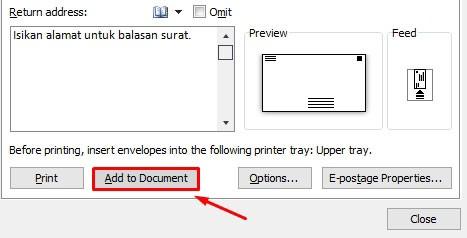 Cara Membuat Kop Surat Resmi Amplop di Microsoft Word, Ikuti Yuk!