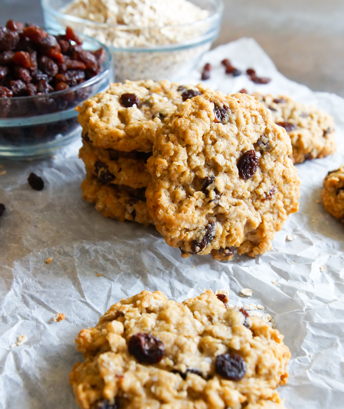 Brown Butter and Vanilla Oatmeal Cookies