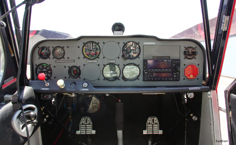 Avion Citabria sur aérodrome de Palo Alto