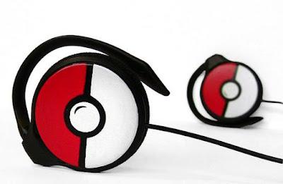 Pokeball Headphones