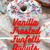 Vanilla Frosted Funfetti Donuts (Baked and Super Easy)