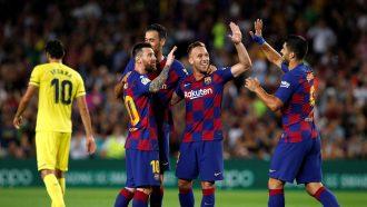 خيتافي ضد برشلونة في مباراة جمعت الفريقين مساء السبت 28/9