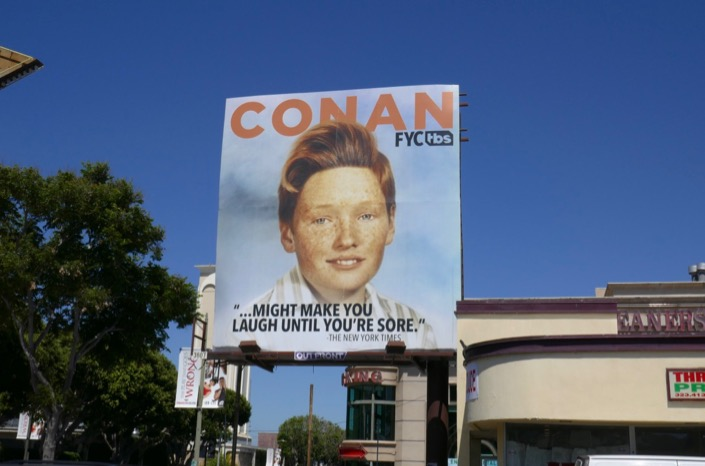 Conan 2019 Emmy FYC billboard