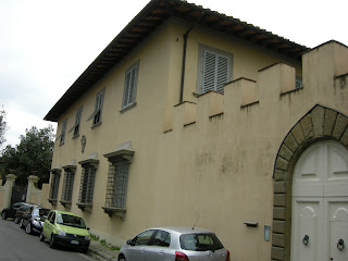 The Villa Rava in Arcetri, where Guicciardini retired