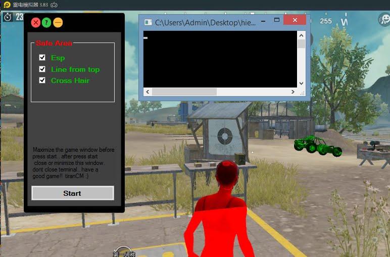 [LD Player] Esp Hack Pubg Mobile 0.16.5