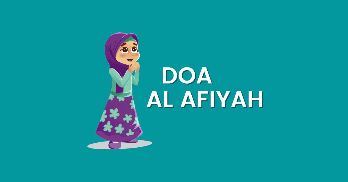 doa al afiyah ayat pendek tapi power