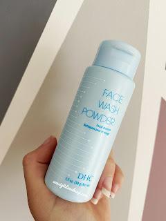 DHC Face wash powder recensione
