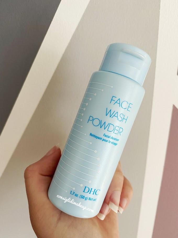 DHC Face Wash Powder, un detergente in polvere!