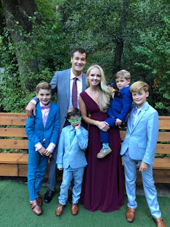 Patrick Marleau With Wife And Kids
