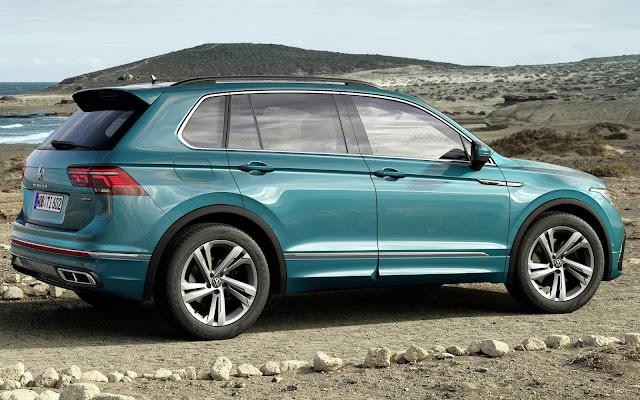 Novo VW Tiguan 2021 R-Line