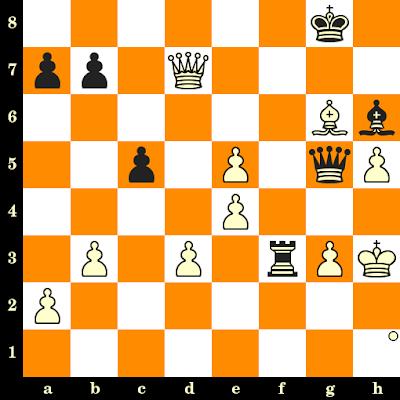 Les Blancs jouent et matent en 3 coups - Valery Salov vs Alexander Beliavsky, Linares, 1991