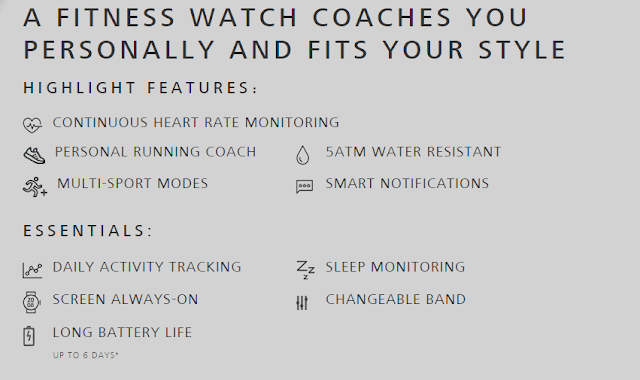 Huawei fit smartwatch CONTINUOUS HEART RATE MONITORING