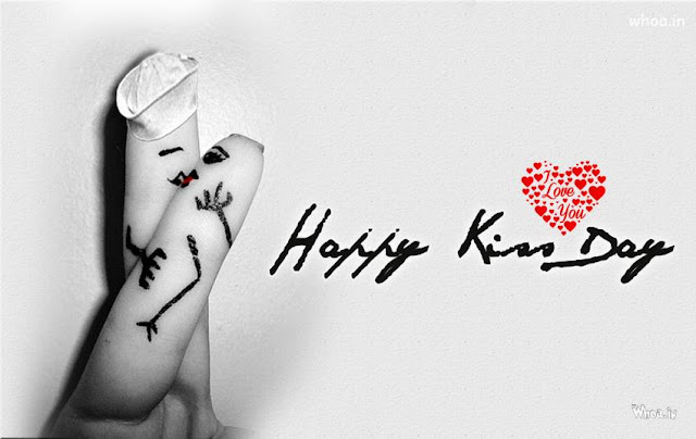 happy kiss day image download