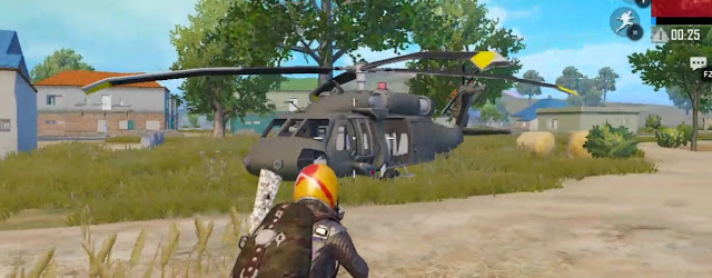 pubg mobile helicopter