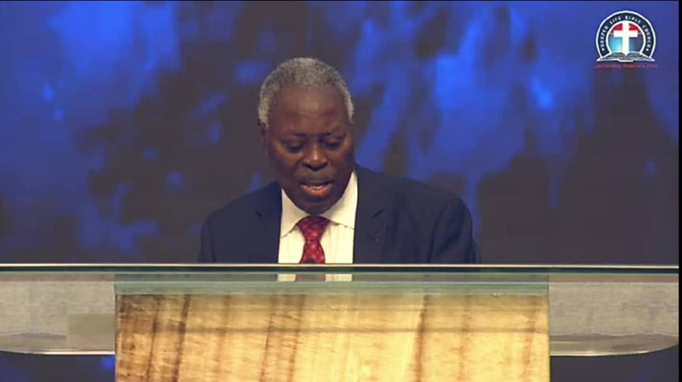 Pastor Kumuyi's Bible Study message titled: An Improper Marriage That Terminated An Important Ministry.