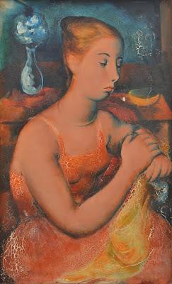 Young Girl, Constance Strokes