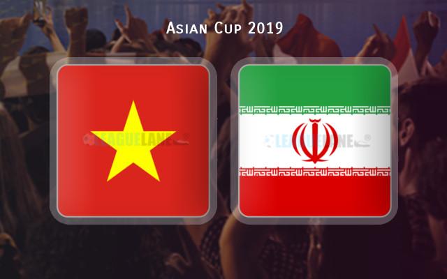 فيتنام وإيران الموعد والتوقيت والمعلق والقنوات الناقلة فى كأس أمم آسيا 2019