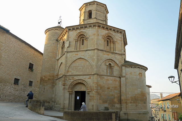 La Iglesia del Santo Sepulcro de Torres del Río, Navarra