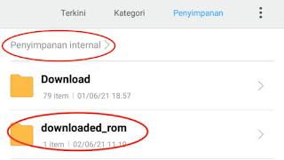 Cara Update ROM Xiaomi Global MIUI Terbaru (Local Update)