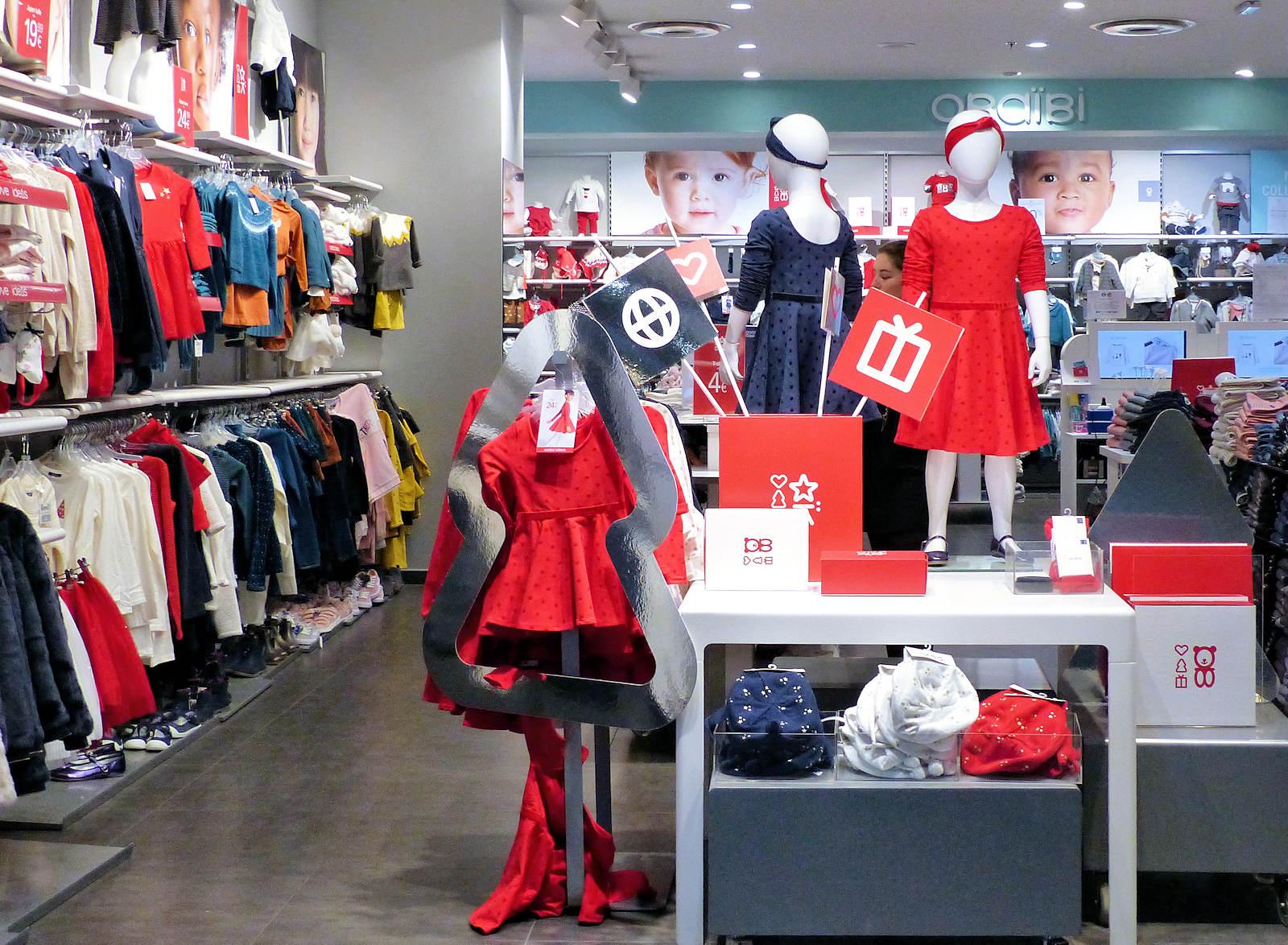 Okaïdi Tourcoing - Intérieur boutique