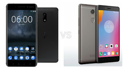 Nokia 6 vs Lenovo K6 Note