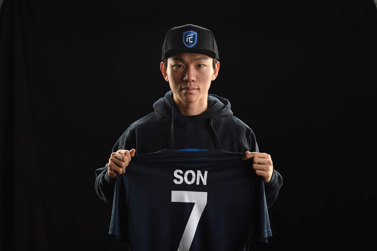 Edmonton FC Son Yongchan