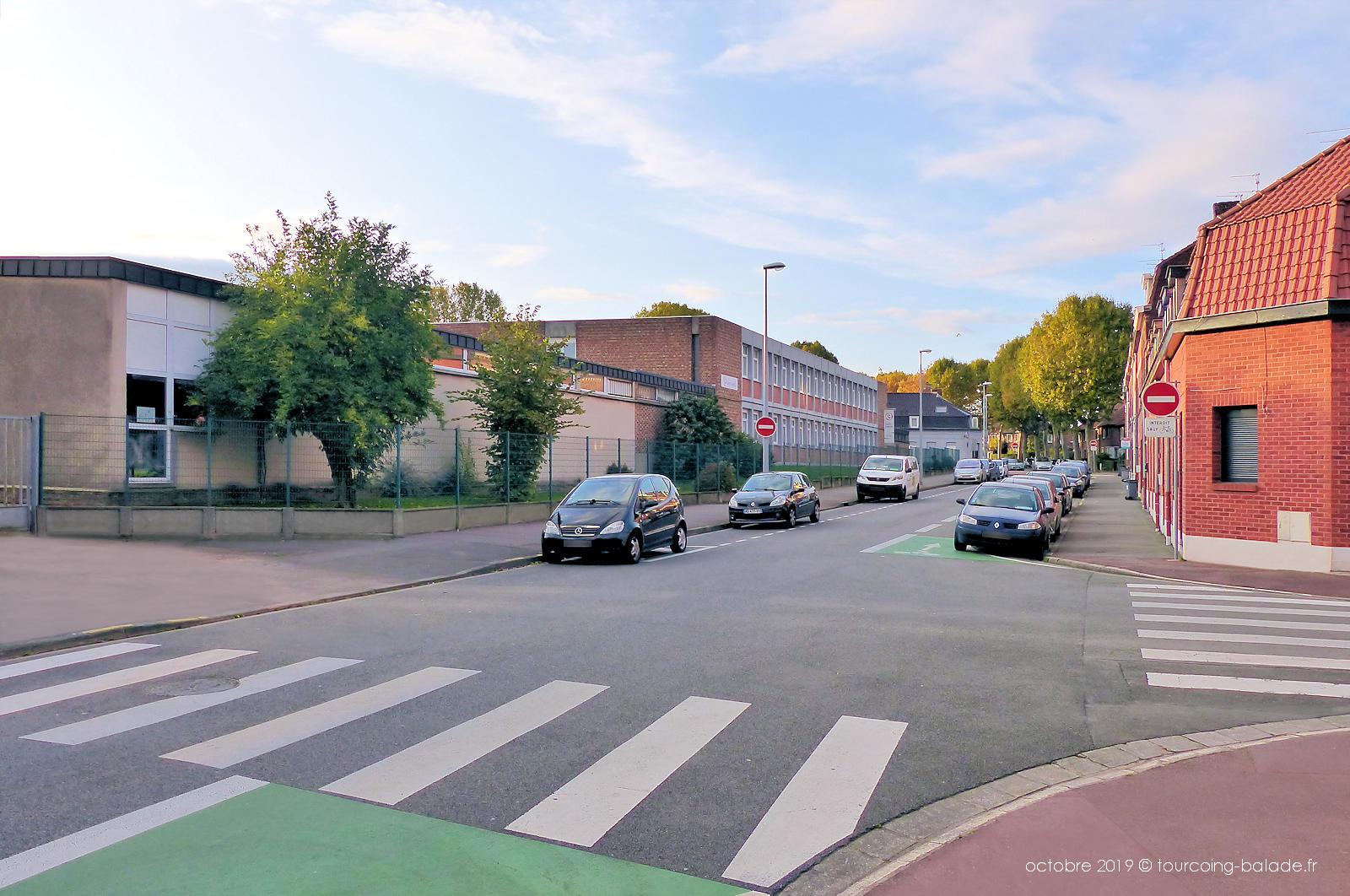 Rue Fleurus, Tourcoing - Collège Saint Gabriel