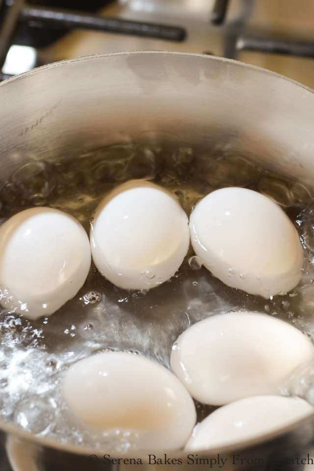Easy Peel Hard Boiled Eggs bring to rapid boil.