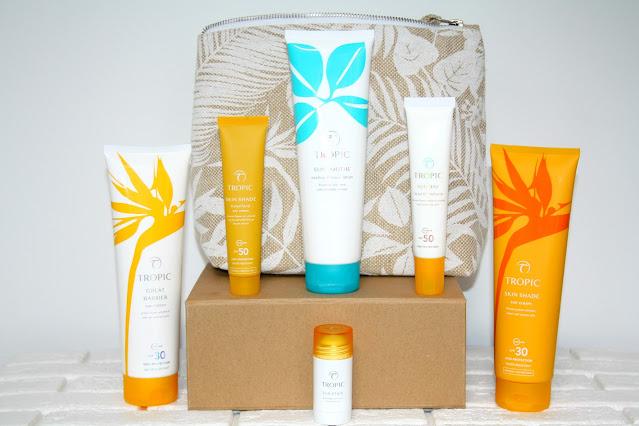 Tropic Skincare's ALL NEW Sun Protection Range