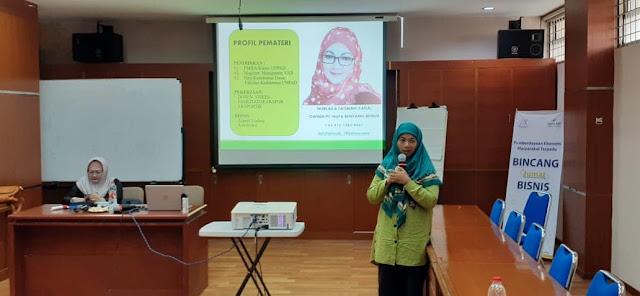 Ceu Meta membuka workshop pendampingan ekspor di BJB Cicadas Bandung