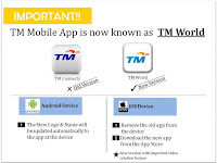 TM Mobile App is now 'TM World'