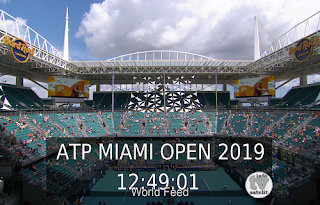 ATP 1000 Miami Open AsiaSat 5 Biss Key 1 April 2019