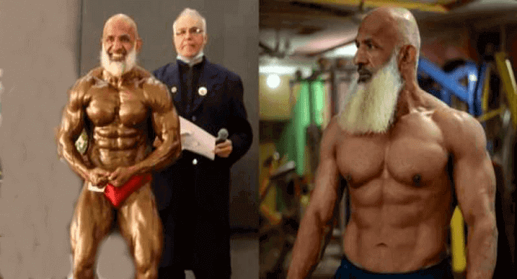 Pakistani Bodybuilder- 60 Year old Is Looking For Mr. Asia Title