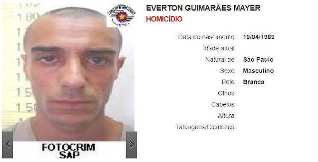 Everton Guimarães Mayer - Homicídio